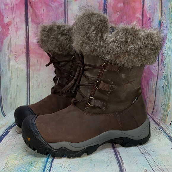 Keen Helena Leather Winter Boots
